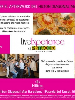 Live Experience at Pistaccio by Hilton Diagonal Mar